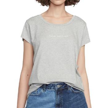 Kleidung Damen T-Shirts French Connection 76IXN1 Grau