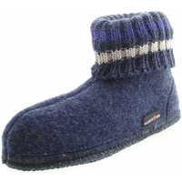 Schuhe Kinder Hausschuhe Haflinger 631051 0 72 Kinder Hüttenschuh Paul Jeansblau Blau