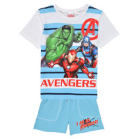 Kleidung Jungen Kleider & Outfits TEAM HEROES  AVENGERS SET Multicolor