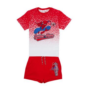 Kleidung Jungen Kleider & Outfits TEAM HEROES  SPIDERMAN SET Multicolor