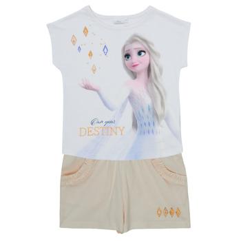 Kleidung Mädchen Kleider & Outfits TEAM HEROES  FROZEN SET Multicolor