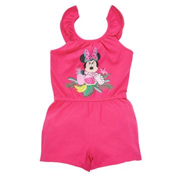 Kleidung Mädchen Overalls / Latzhosen TEAM HEROES  MINNIE JUMPSUIT Rose