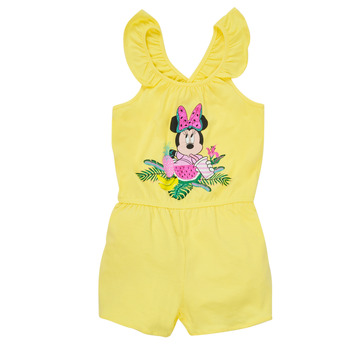 Kleidung Mädchen Overalls / Latzhosen TEAM HEROES  MINNIE JUMPSUIT Gelb