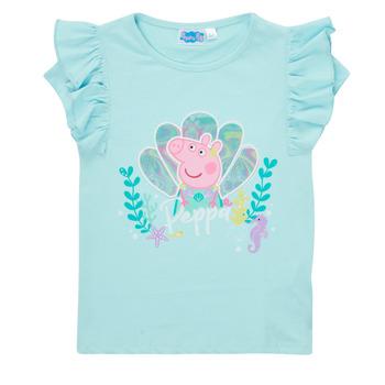 Kleidung Mädchen T-Shirts TEAM HEROES  PEPPA PIG TEE Blau