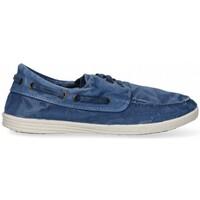 Schuhe Herren Sneaker Low Natural World 55324 blau