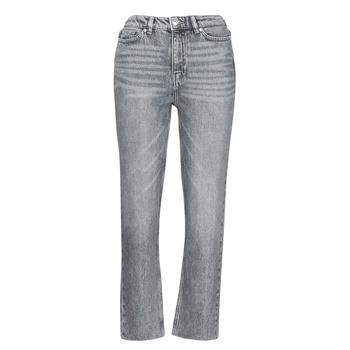 Kleidung Damen Slim Fit Jeans Only ONLEMILY Grau