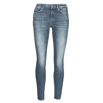 Kleidung Damen Slim Fit Jeans Only ONLBLUSH Blau / Grau