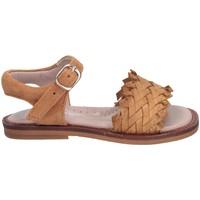 Schuhe Mädchen Sandalen / Sandaletten Cucada 17021AC Sandalen Kind COGNAC COGNAC