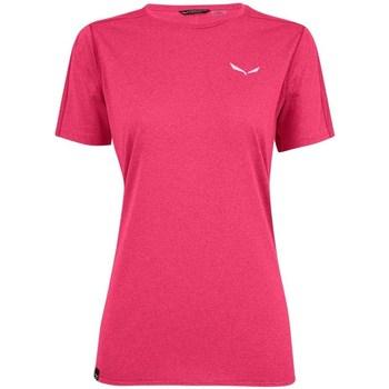 Kleidung Damen T-Shirts Salewa Pedroc 3 Dry W Rosa