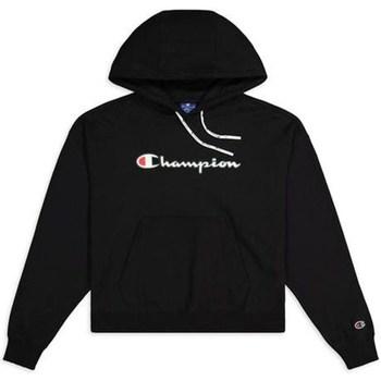 Kleidung Damen Sweatshirts Champion Hooded Sweatshirt Nbk Schwarz
