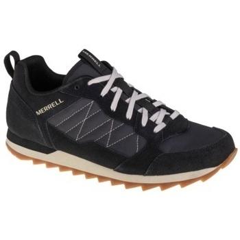 Schuhe Herren Multisportschuhe Merrell Alpine Sneaker Schwarz