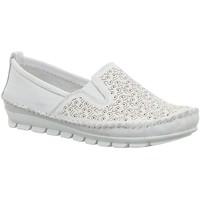 Schuhe Damen Slipper Gemini Slipper 382163-01/001 weiß