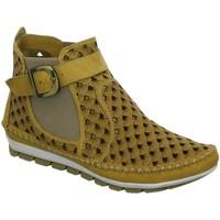 Schuhe Damen Boots Gemini Stiefeletten Kali 382010 -19-006** gelb