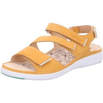 Schuhe Damen Sandalen / Sandaletten Ganter Sandaletten 1-200136-8600 gelb