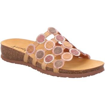 Schuhe Damen Pantoffel Think Pantoletten 3-000247-3000 orange