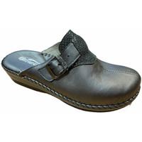 Schuhe Damen Pantoffel Florance FLC23060gr grigio