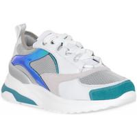 Schuhe Damen Sneaker Low Keys SNEAKER WHITE Bianco