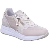 Schuhe Damen Sneaker Low NeroGiardini Schnuerschuhe E115140D-702 beige