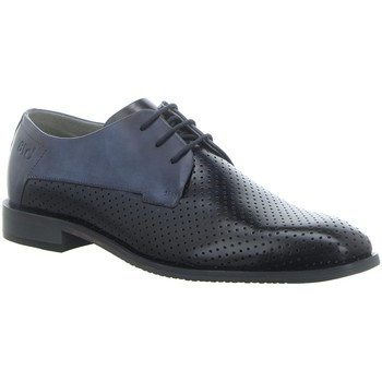 Schuhe Herren Derby-Schuhe Bugatti Schnuerschuhe 311-75212-1111-4140 blau