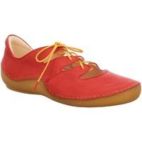 Schuhe Damen Sneaker Low Think Schnuerschuhe 3-000321-5000 rot