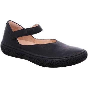 Schuhe Damen Ballerinas Think Slipper 3-000369-0000 schwarz