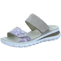 Schuhe Damen Pantoffel Ara Pantoletten 12-47217-73 beige