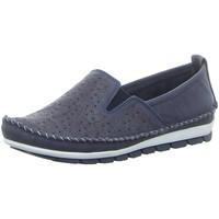 Schuhe Damen Slipper Gemini Slipper 382163-01/802 blau