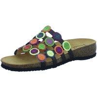 Schuhe Damen Pantoffel Think Pantoletten 3-000247-0000 schwarz