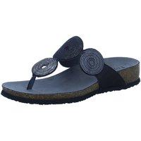 Schuhe Damen Zehensandalen Think Pantoletten 3-000372-0000 schwarz