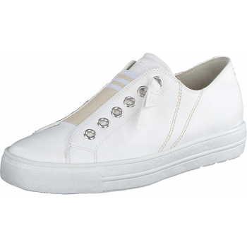Schuhe Damen Slipper Paul Green 5076 008 Damen Sneaker Offwhite Weiss