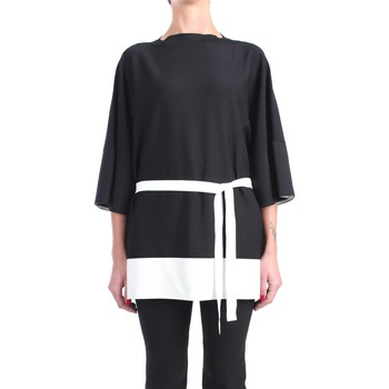Kleidung Damen Tops / Blusen Liviana Conti S1/F1SA08 Halsband Damen Schwarz / nat Schwarz / nat