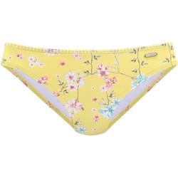 Kleidung Damen Bikini Ober- und Unterteile Lascana Ditsy  Badeanzug Slip Khaki