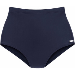 Kleidung Damen Bikini Ober- und Unterteile Lascana Heidi  Schlankheits-Bademode bikini-Slip Blau Marine