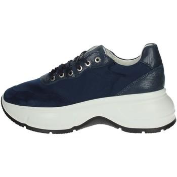 Schuhe Damen Sneaker Low Frau 4681 Blau
