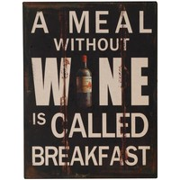 Home Plakate, Posters Signes Grimalt Wall Plates Wein Multicolor