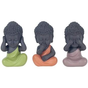 Home Statuetten und Figuren Signes Grimalt Buddha Sieht By Sigris Hört By Sigris Spricht Nicht Set 3U Multicolor