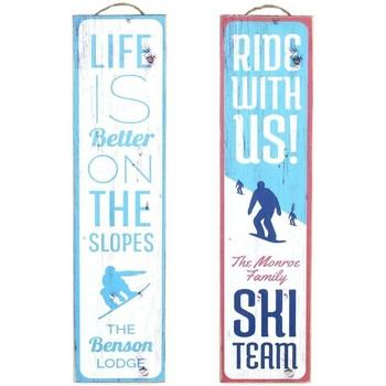 Home Gemälde, Leinwände Signes Grimalt Wall-Plate Ski 2. September U Azul