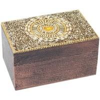 Home Koffer, Aufbewahrungsboxen Signes Grimalt Rechteckige Box Dorado