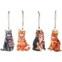 Home Künstliche Pflanzen Signes Grimalt Hängende Katzen Set 4 U Multicolor
