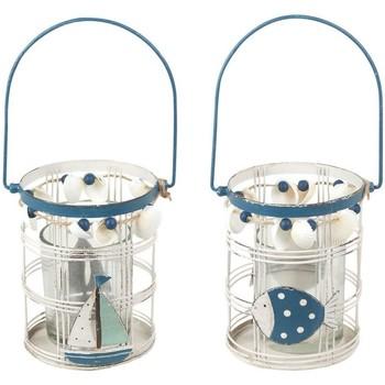Home Kerzenhalter, Kerzengläser Signes Grimalt Würfel Mit Griff 2 Verschiedene Multicolor