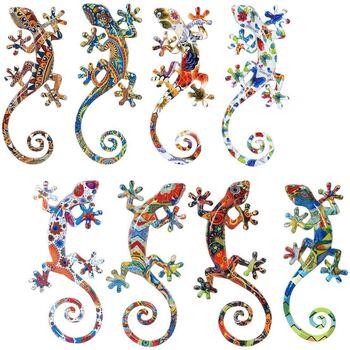 Home Statuetten und Figuren Signes Grimalt Lagartos S 8 Verschiedene 8U Multicolor