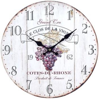 Home Uhren Signes Grimalt Wein Wanduhr Blanco