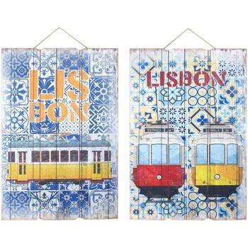 Home Gemälde, Leinwände Signes Grimalt Wandverzierung Lissabon 2 Dif. Multicolor