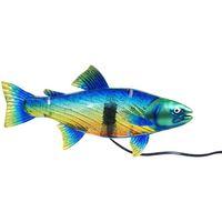 Home Tischlampen Signes Grimalt Tischlampe Fische Azul