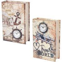 Home Koffer, Aufbewahrungsboxen Signes Grimalt Buch 2 Verschiedene 2U-Box Multicolor