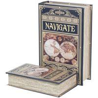 Home Koffer, Aufbewahrungsboxen Signes Grimalt Navigieren In Buchboxen Set 2U Multicolor