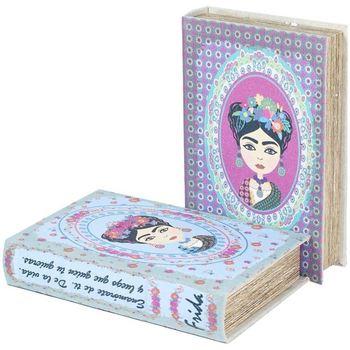 Home Koffer, Aufbewahrungsboxen Signes Grimalt Buch 2 Verschiedene 2U-Box Azul