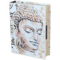 Home Koffer, Aufbewahrungsboxen Signes Grimalt Buch-Sicherheits-Box-Buda Beige