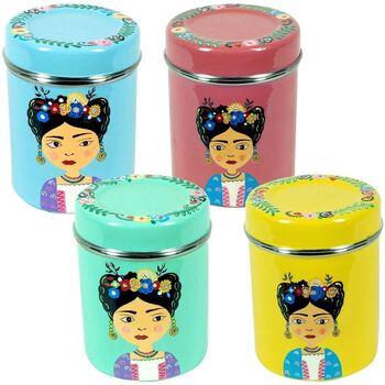 Home Körbe, Kisten, Regalkörbe Signes Grimalt Teebox Set 4 Einheiten Multicolor
