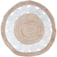 Home Teppiche Signes Grimalt Jute und Baumwolle Teppich Multicolor